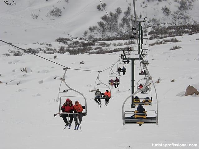 estação de esqui em Bariloche