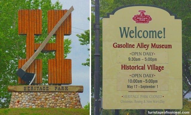o que fazer3 1 - Heritage Park, lição de história ao vivo em Calgary, Canadá