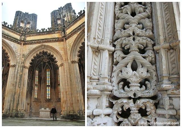 portugal dicas - Mosteiro da Batalha, renda portuguesa em pedra