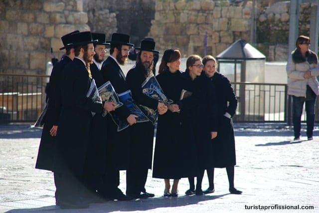 turismo religioso - Olhares - Muro das Lamentações em Jerusalém