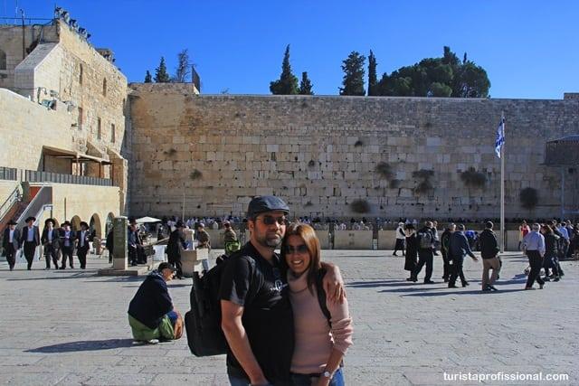 turista profissional - Olhares - Muro das Lamentações em Jerusalém