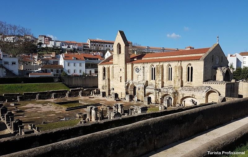 Convento de Santa Clara a Velha em Coimbra Portugal