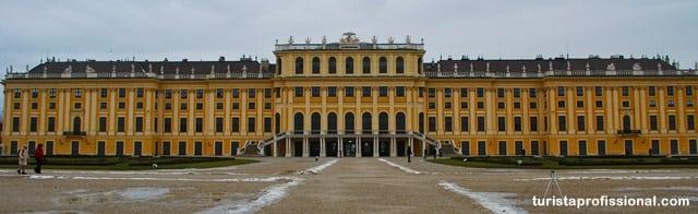 O que fazer em Viena - Schönbrunn, o Palácio da Sissi em Viena