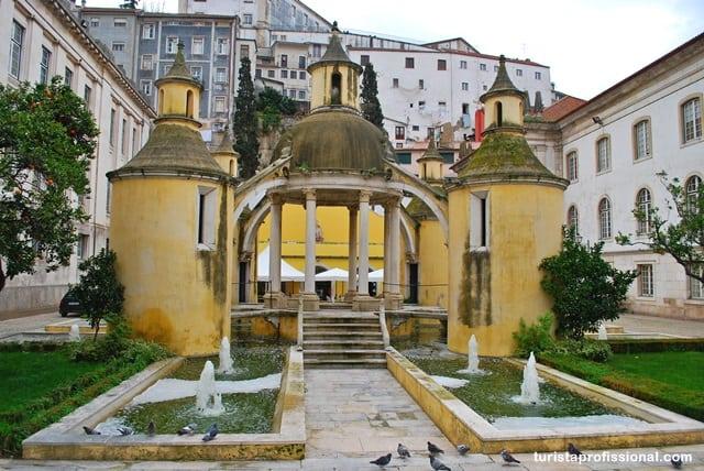 atrações de Portugal - O que visitar em Coimbra, uma cidade cheia de atrações