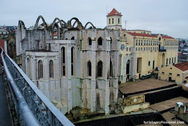 atrações - Elevador de Santa Justa: observando Lisboa do alto
