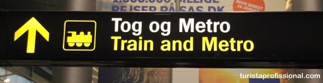 dicas dinamarca - Como ir do aeroporto até o centro de Copenhague