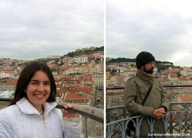 o que ver Lisboa - Elevador de Santa Justa: observando Lisboa do alto