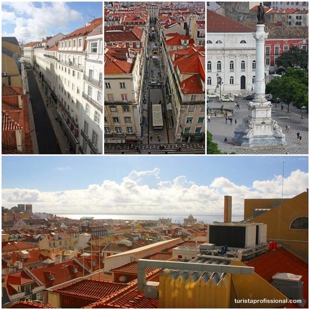 o que ver em Lisboa - Elevador de Santa Justa: observando Lisboa do alto