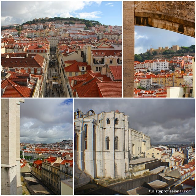 o que ver - Elevador de Santa Justa: observando Lisboa do alto