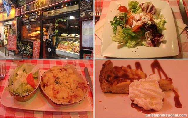 roteiro paris gastronomia - Quanto custa passar uma semana em Paris (no mínimo)?