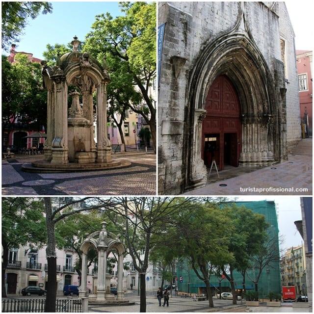 turista profissional - Elevador de Santa Justa: observando Lisboa do alto