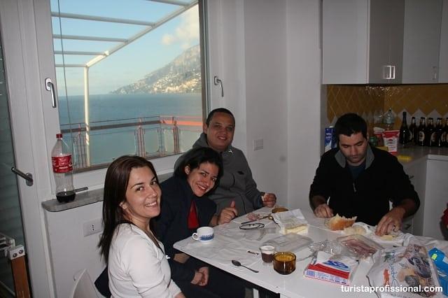 o que fazer na itália - Dica de hospedagem na Costa Amalfitana