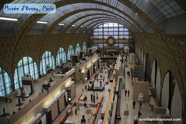D'Orsay, o museu dos impressionistas em Paris