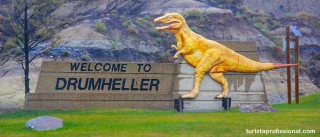 o que ver no Canadá - Seguindo os dinossauros do Canadá - Royal Tyrrel Museum