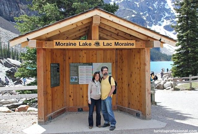 o que vestir no canadá - Look de viagem: Moraine Lake no verão, Canadá