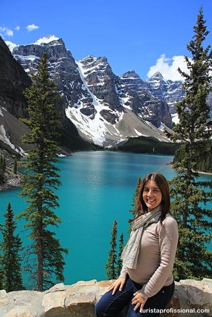 turista fashion - Look de viagem: Moraine Lake no verão, Canadá