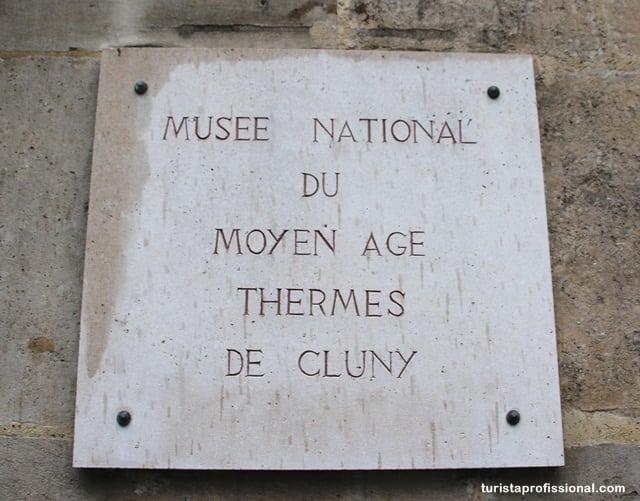 o que ver em Paris - Musée de Cluny: uma viagem à época medieval em plena Paris