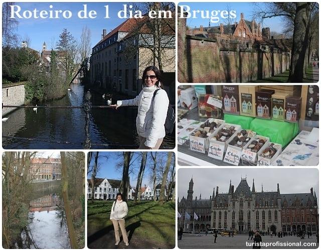 roteiro de 1 dia em Bruges - Roteiro de 1 dia em Bruges: como chegar e o que visitar