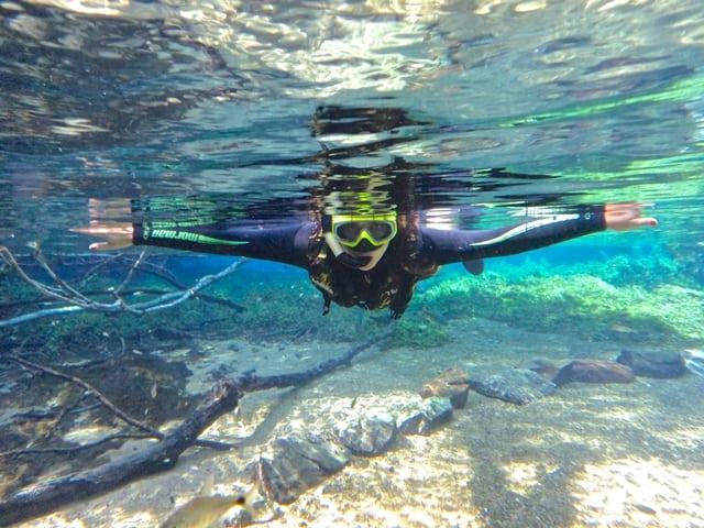 máquina sub aquática