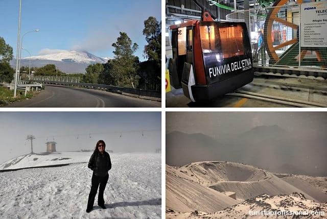 Monte Etna vulcão - Roteiro de 10 dias pelo sul da Itália: Costa Amalfitana, Sicília e Roma