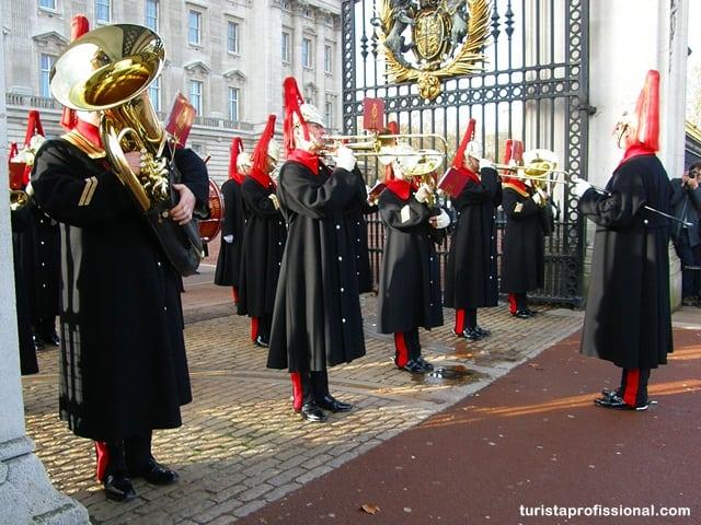 Troca de Guarda no Palácio de Buckingham