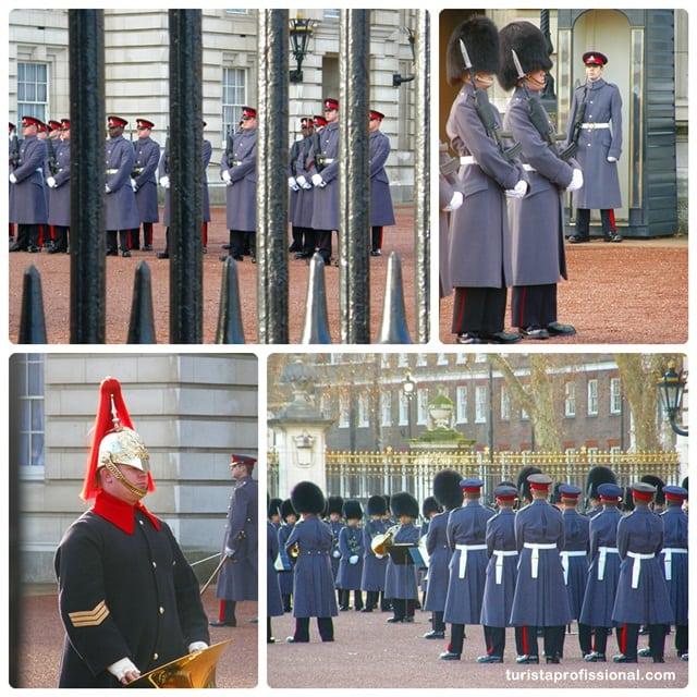 atrações turísticas - Como assistir à Troca da Guarda do Palácio de Buckingham, Londres