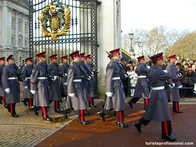 dicas Londres - Como assistir à Troca da Guarda do Palácio de Buckingham, Londres