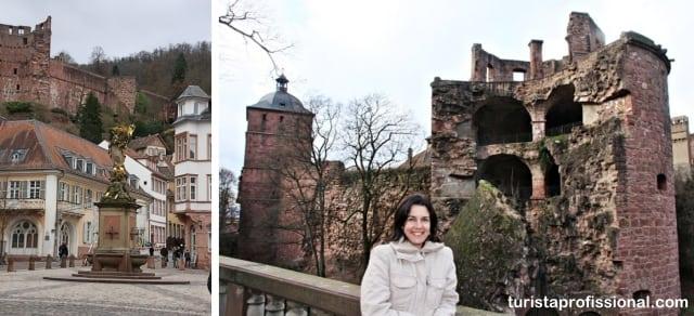 heidelberg alemanha - Roteiro de 1 dia em Heidelberg: como chegar e o que fazer
