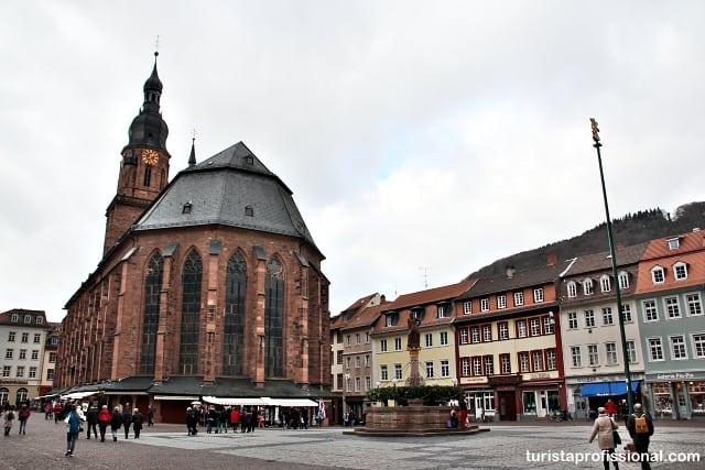 o que ver em heidelberg - Roteiro de 1 dia em Heidelberg: como chegar e o que fazer