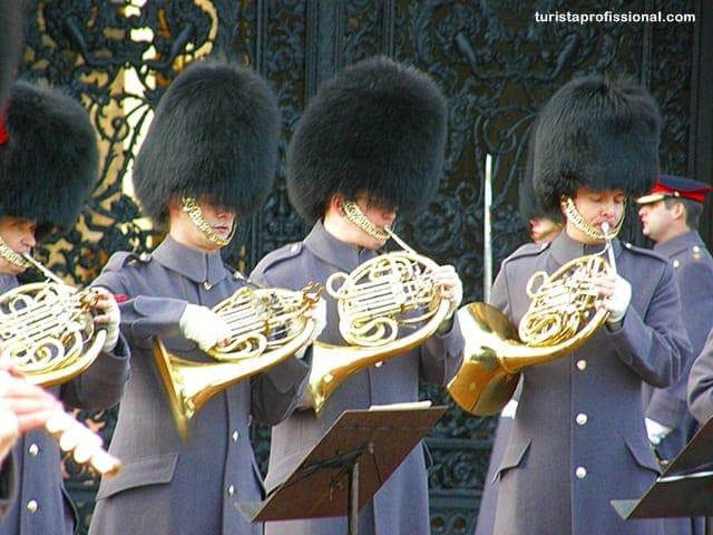 o que ver - Como assistir à Troca da Guarda do Palácio de Buckingham, Londres