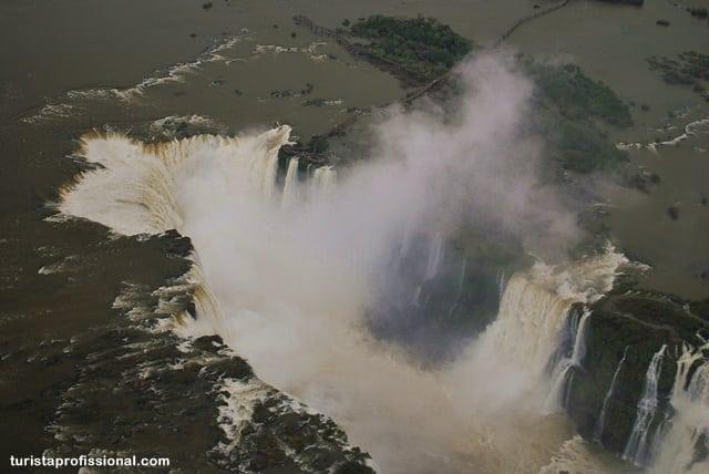 voo de helicóptero em Foz do Iguaçu