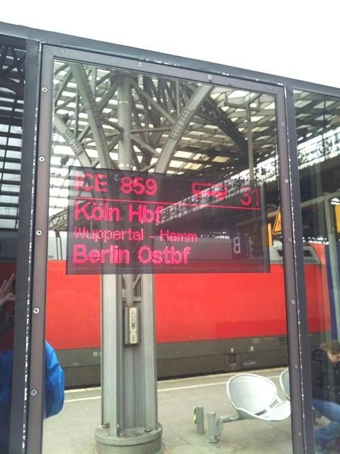 trem Koln para Berlin - Viagem de trem na Alemanha: todas as dicas passo a passo