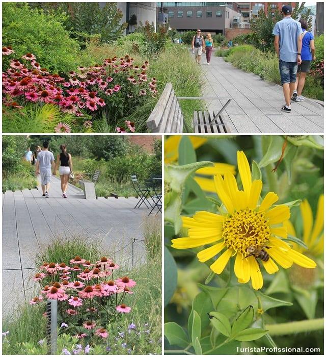 Nova York - The High Line:  os jardins suspensos de New York