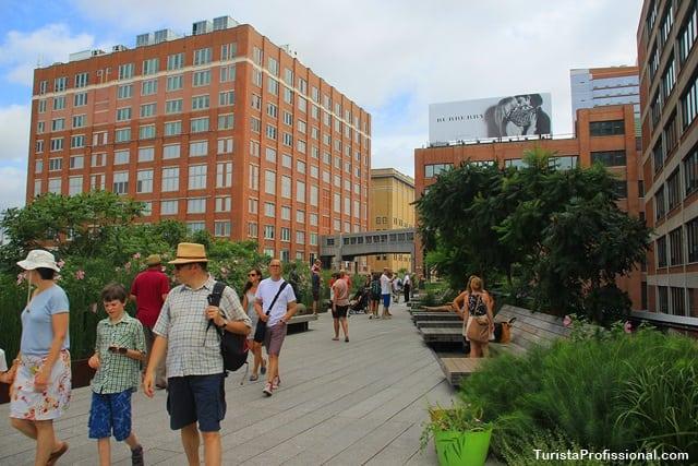 atrações turísticas - The High Line:  os jardins suspensos de New York