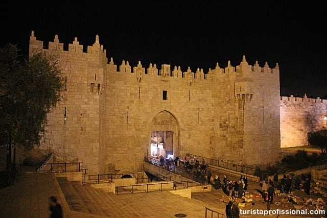portão de damascus jerusalém