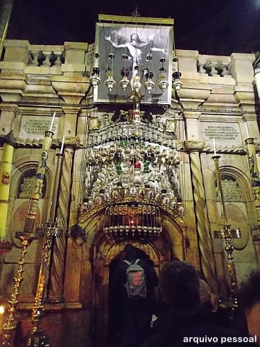 santo sepulcro - Visita à Basílica do Santo Sepulcro – Jerusalém