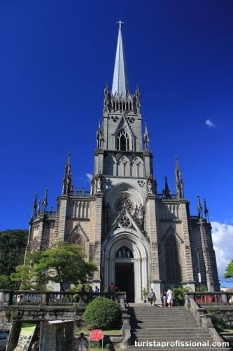 catedral petrópolis - Roteiro de 1 dia em Petrópolis (com mapa)