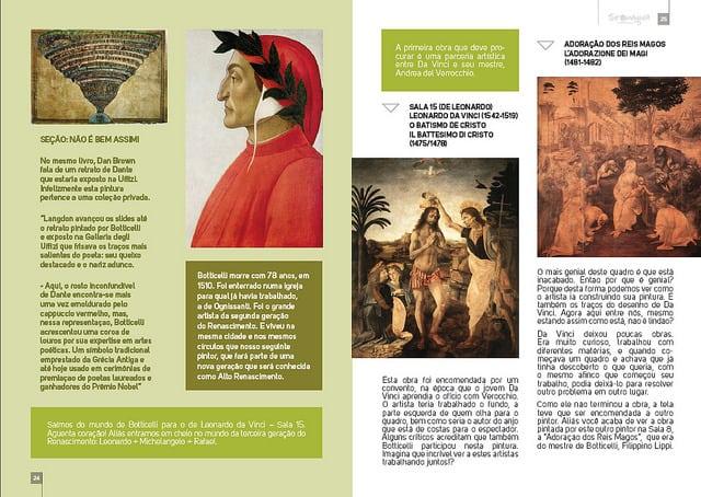 dicas de Florença - Lançamento do guia da Galeria Uffizi em Florença