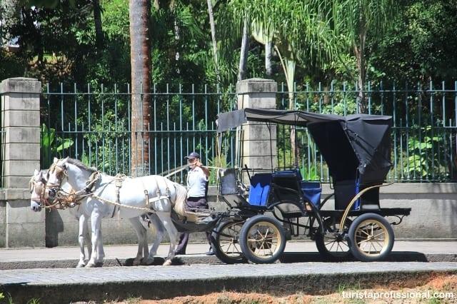 passeio de charrete - Roteiro de 1 dia em Petrópolis (com mapa)