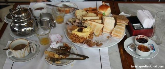café da manhã em buenos aires - Café da manhã ou chá da tarde no Las Violetas em Buenos Aires