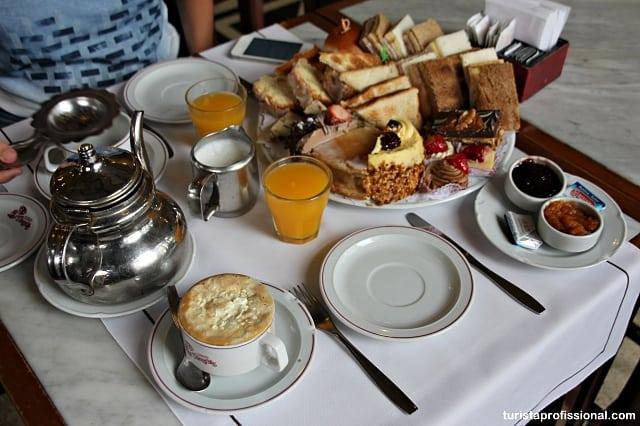 café da manhã - Café da manhã ou chá da tarde no Las Violetas em Buenos Aires