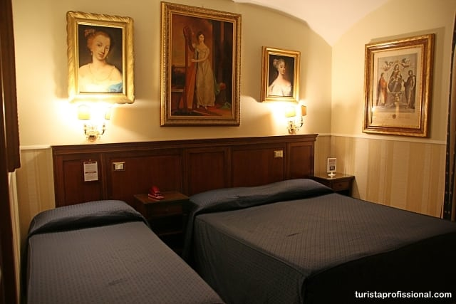 hotel em roma - Dica de hotel em Roma: Des Artistes