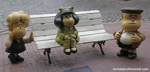 mafalda em buenos aires - Seguindo os passos da Mafalda em Buenos Aires