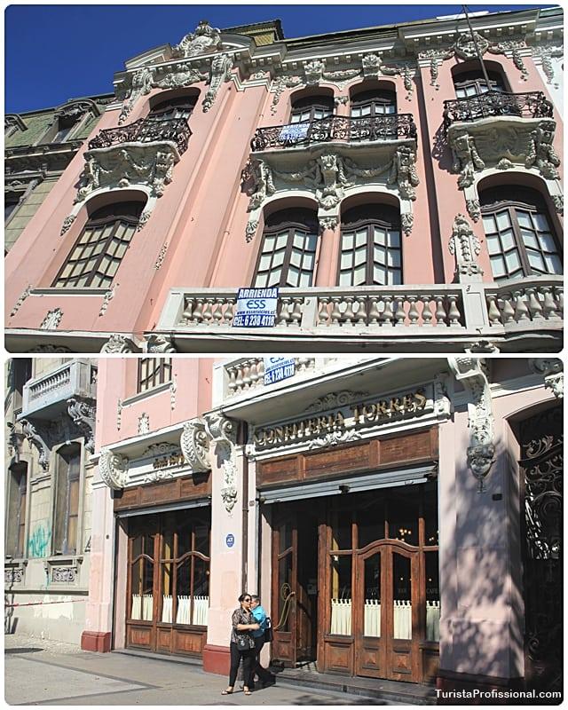Onde comer em Santiago - Confiteria Torres, o mais antigo café de Santiago
