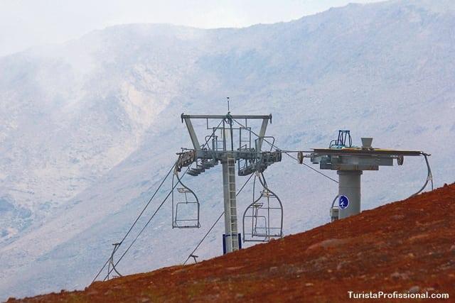 Valle Nevado no Verão