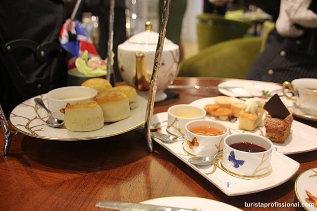 chá da tarde londres