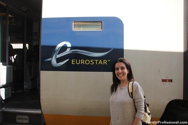 eurostar - Viagem de trem de Paris para Londres