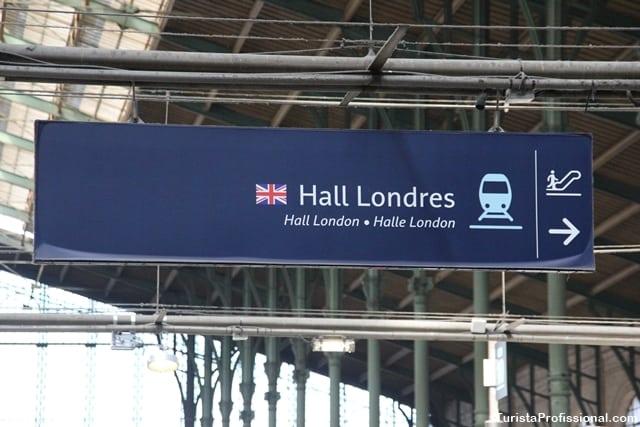 trem para londres - Viagem de trem de Paris para Londres