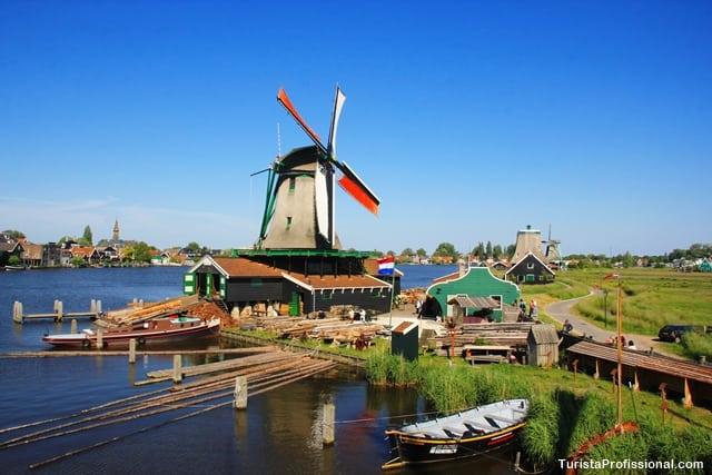 como chegar3 - Zaanse Schans: moinhos pertinho de Amsterdam