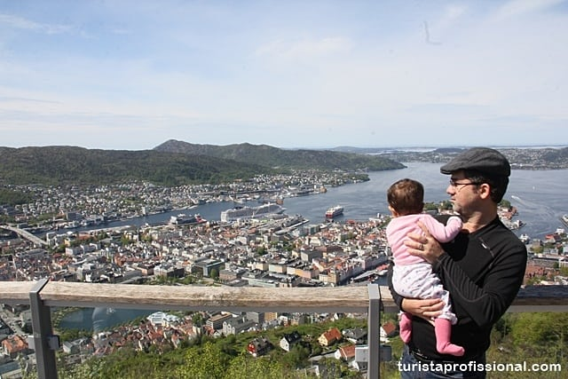 Noruega com criança